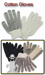 Cotton Gloves from AmandaGloves.com: Your source for gloves with FREE shipping